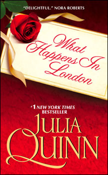 Review: What Happens in London by Julia Quinn