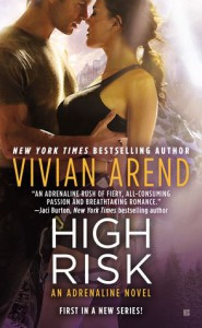 Cover for High Risk by Vivian Arend