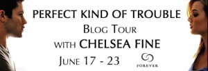 Blog Tour/Giveaway and Review: Perfect Kind of Trouble by Chelsea Fine