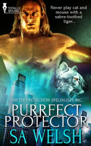 Review – Purrfect Protector by S.A. Welsh